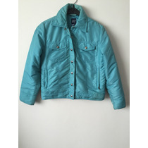 Campera Turquesa Gap