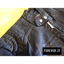 Oferta Increible Campera Hombre Forever 21 Simil Cuero