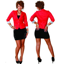 Hermoso Blazer Saco Forrado En El Color Que Quieras!!!