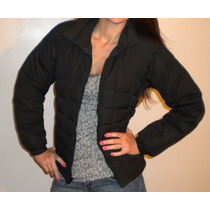 Columbia, Campera De Plumas Color Negro T.xs. Impecable!