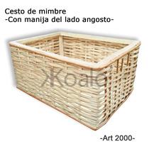 Canastos De Mimbre - Pack X8 - Koalo Muebles