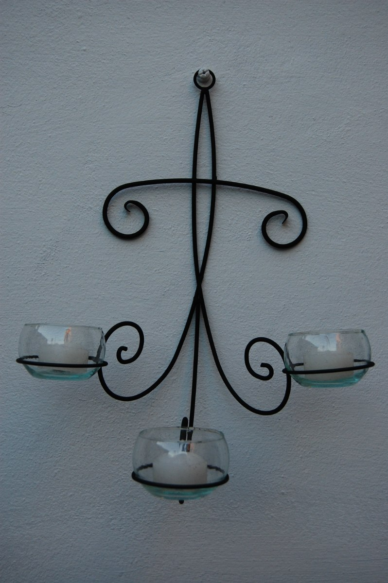 1000 images about herreria on pinterest wrought iron for Adornos pared metal