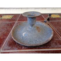 Candelabro Antiguo Porta Velas Candelero