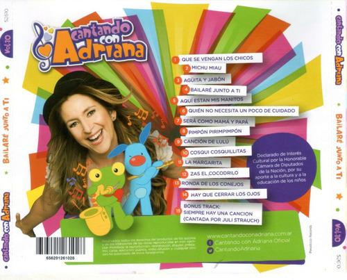 Cantando Con Adriana Vol 1 Cantando Con Adriana Bailare