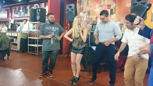 Cantante Show Musical Animacion Karaoke Cumbia Carteto Dj