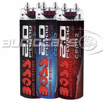 Capacitor Boss 2 Faradios P/ Potencias 2/4 Canales Y Digital