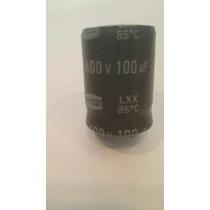 Capacitor Electrolítico De 100uf X 400v