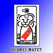 Case Huawei Mate 7 Mate7 Carcasa River Plate Carp 12creativo