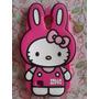 Funda Hello Kitty Rabbit + Film Protector Samsung Galaxy S4