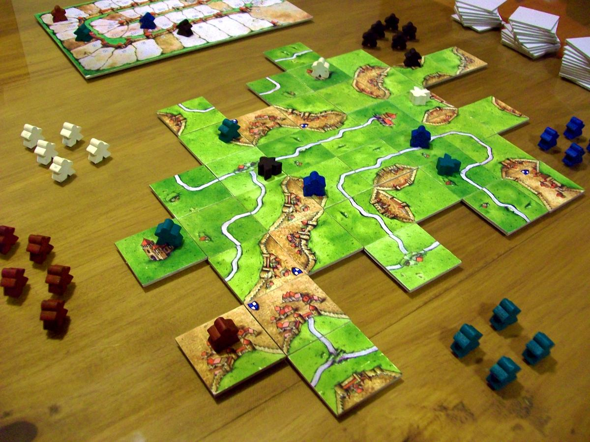 Opiniones de carcassonne juego for Juego de mesa ruming