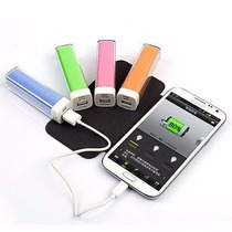Cargador Bateria Externa Power Bank 2000 Mah Colores