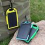 Cargador Portatil 5000mah Solar P/celular/tablet/mp3/ipad