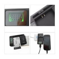 Cargador Universal Samsung Yibuyuan Baterias Usb Lcd