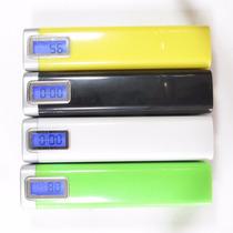 Cargador Bateria Ext Power Bank 2600 Mah Linterna Y Display