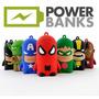 Power Bank Ironman Batman Spiderman Yoda 8800 Mah Samsung Lg