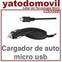 Mendoza Cargador Auto Micro Usb Compatible Con Todas Marcas