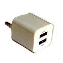Cargador Usb Pared 220/110 3100mha Doble Salida