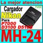 Cargador Nikon Mh-24 D3100 D5100 D3200 D5200 P7000 Original