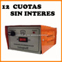 Cargador De Batería Lusqtoff 10 Amp 12 Volt Cuotas S/ Int