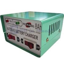 Cargador De Bateria 6v 12v 8amp Moto Cuatri Lancha