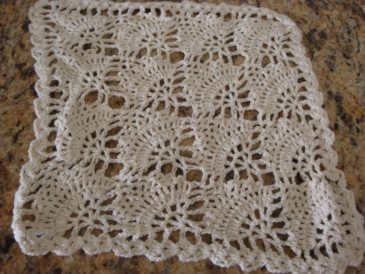 Carpetas Tejidas Al Crochet 20 00 en MercadoLibre