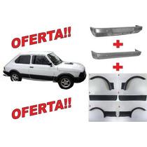 Combo Baguetas Fiat Spazio 147 Tr Moldura Mas Paragolpes