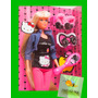 Hello Kitty, Articulada Tipo Barbie Steffi, Super Hair