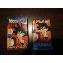 Cartas Mazo Naipes Dragon Ball Z Pro Smart Lote 179 Año 1999