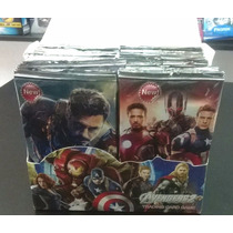 Cartas Trading Card The Avengers - Los Vengadores Caja X 36