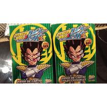 Mazo Dragon Ball Z Kai Serie 10 Completo Las 152 Cartas+caja