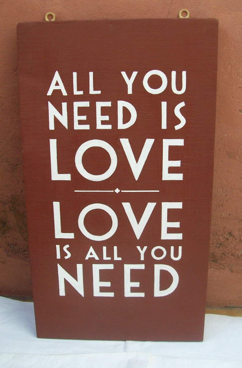 canciones all you need is love: