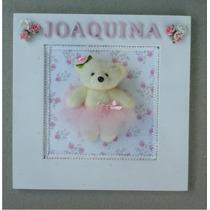 Cartel Cuadro De Bienvenida Nacimiento Maternidad Con Nombre