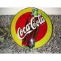 Cartel Coca&cola Coleccionable Acrilico Vintage Subasta 1$$$