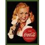 Carteles Antiguo De Chapa Gruesa 60x40cm Coca Cola Dr-013