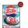 Cartel De Chapa Publicidad Antigua Pepsi Cola Varios