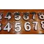 Número Corporeo Dirección 10cm Acero Inox + Impresión 3d Abs
