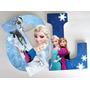 Letras 15cm Decoradas Frozen, Plants Vs Zombies, Marvel