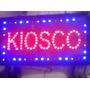 Cartel Led Bar Kiosko 48 X 25 Cm Alta Luminosidad C/ganchos