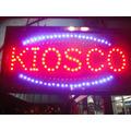 Cartel Led Luminoso Kiosco-fotocopias-pizza-cafe