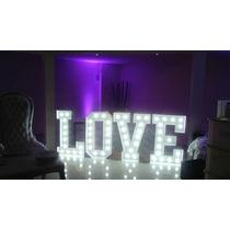 Alquiler Letras Love Casamiento 1,20 M - Envio Gratis