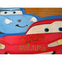 Carteles De Cumpleaños Personalizado Cars Y Otros Aviluma