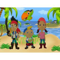 Figuras Jake Y Los Piratas Del Pais De Nunca Jamas