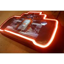 Cartel Marlboro F1 Neon Publicidad Funciona Con Agujero