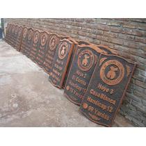 Letrero Tallados 180 .exelencia En Maderas