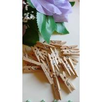 10 Mini Broches Color Madera Candy Bar Souvenir Decoracion