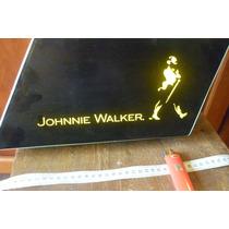 Cartel Luminoso Publicidad Johnnie Walker Impecable Original