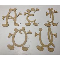 Letras Figuras Disney En Mdf Corte Laser