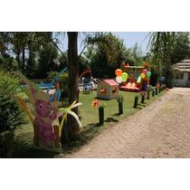 Muñeco Corporeo Backyardigan 1,2 M Deco Evento Salon Fiesta
