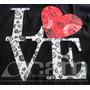 Dia De Los Enamorados Cartel Love Madera Decoupage Corazon