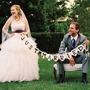 Guirnalda Banderín Just Married - Boda Casamiento